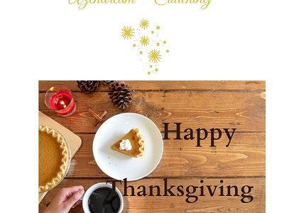 La gratitude et L'origine du Black Friday-azendream - coaching- fleur de bach